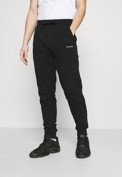Calvin Klein - SMALL LOGO - Jogginghose - black