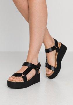 Call it Spring - LANCYY - Korkeakorkoiset sandaalit - black