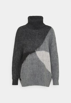 comma casual identity - Strickpullover - dark grey