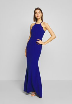 WAL G. - SCALLOP EDGE DRESS - Suknia balowa - electric blue