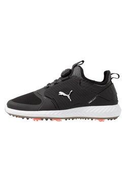 Puma Golf - IGNITE PWRADAPT CAGED DISC - Golfschoenen - black/silver