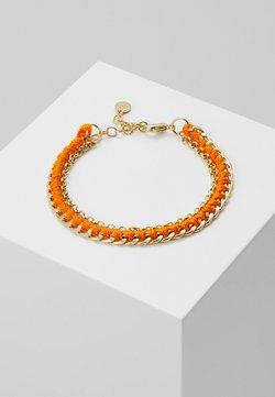 SNÖ of Sweden - TRAIL BRACE - Bracelet - gold-coloured/orange