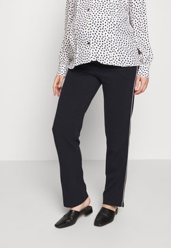 LOVE2WAIT - PANTS TRAVELLER FLARED - Jogginghose - navy