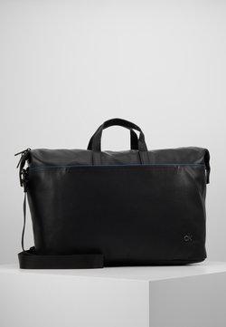 Calvin Klein - DIRECT WEEKENDER - Reisetasche - black