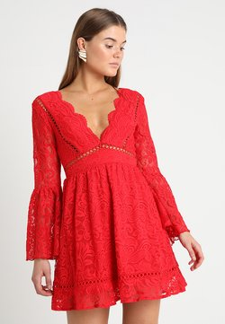 Love Triangle - QUEEN OF HEARTS DRESS - Cocktail dress / Party dress - red