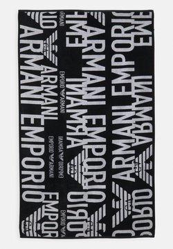 Emporio Armani - TOWEL - Telo da bagno - nero
