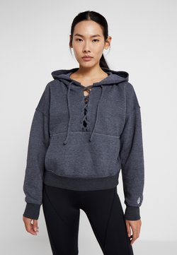 Free People - FP MOVEMENT BELIEVE IT SWEAT - Sweat à capuche - black