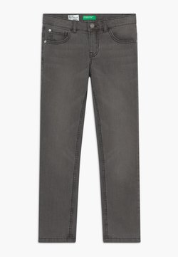 Benetton - Slim fit jeans - dark blue denim