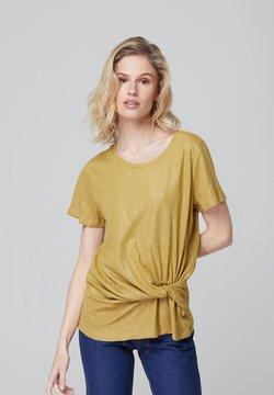 FELIPE ALBERNAZ - T-Shirt basic - mustard