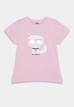 KARL LAGERFELD - SHORT SLEEVES TEE - T-shirt print - pink