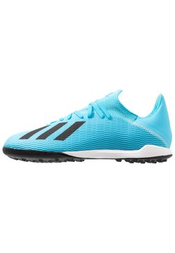 adidas Performance - X 19.3 TF - Astro turf trainers - bright cyan/core black/shock pink