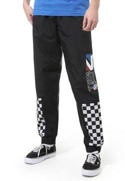 Vans - MN DIMENSION TRACK PANT - Jogginghose - black