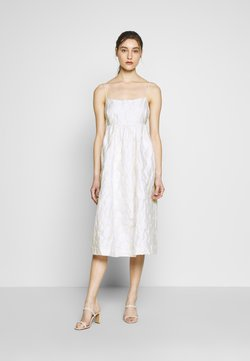 Samsøe Samsøe - GRANT DRESS - Cocktail dress / Party dress - warm white