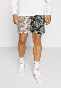 Sixth June - TROPICAL - Shorts - black/white