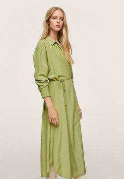 Mango - RAIN - Sukienka koszulowa - grønn