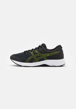 ASICS - GEL CONTEND 6 - Zapatillas de running neutras - graphite grey/lime zest