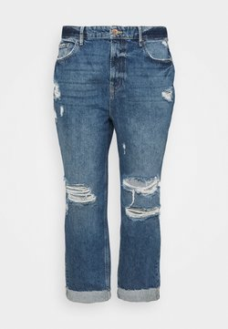 River Island Plus - Jeans baggy - mid auth