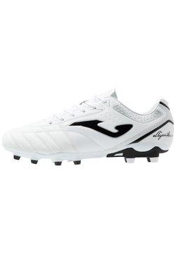Joma - AGUILA GOL - Voetbalschoenen met kunststof noppen - white