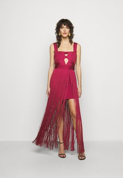 Hervé Léger - CUT OUT GOWN - Occasion wear - maroon