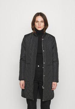 Selected Femme - SLFFILLIPA QUILTED COAT - Bomberjacke - black