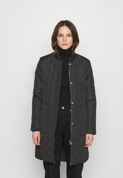 Selected Femme - SLFFILLIPA QUILTED COAT - Bomber Jacket - black