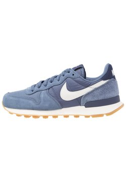 Nike Sportswear - INTERNATIONALIST - Sneakers - diffused blue/summit white/neutral indigo/sail/light brown