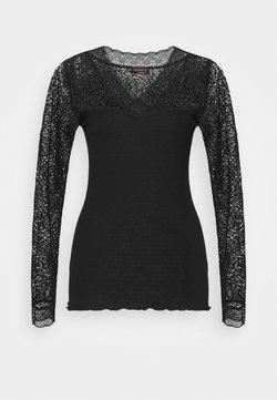 Rosemunde - Langarmshirt - black