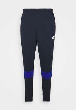 adidas Performance - COLORBLOCK ESSENTIALS - Jogginghose - blue