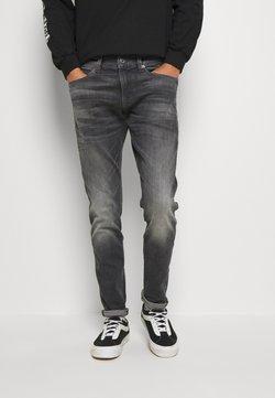 G-Star - 4101 LANCET SKINNY - Jeans Skinny Fit - elto Black vintage basalt destroyed