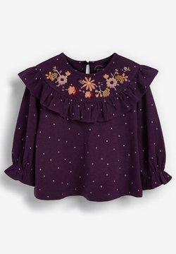Next - EMBROIDERED - Camiseta estampada - purple