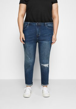 Simply Be - FERN BOYFRIEND - Jeans Tapered Fit - vintage blue