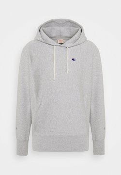 Champion Reverse Weave - HOODED - Sweater - mottled light grey