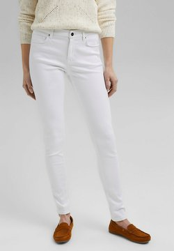 Esprit Collection - MIT ORGANIC COTTON - Jeans slim fit - white