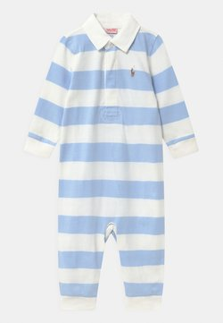 Polo Ralph Lauren - RUGBY ONE PIECE  - Combinaison - beryl blue/white