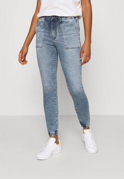 American Eagle - SUPER SOFT JEGGING JOGGER - Slim fit jeans - blue daylight