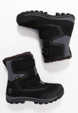 Timberland - CHILLBERG 2-STRAP GTX - Snowboot/Winterstiefel - black