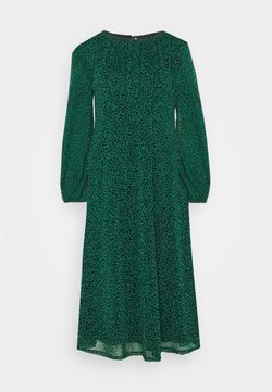 Wallis - LEOPARD DRESS - Sukienka letnia - green