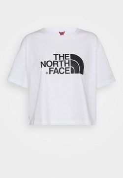The North Face - CROPPED EASY TEE  - Print T-shirt - white
