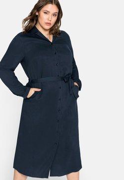 Sheego - Blusenkleid - nachtblau