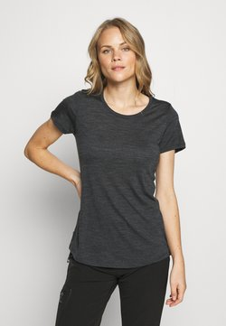 Icebreaker - SPHERE LOW - T-Shirt basic - black