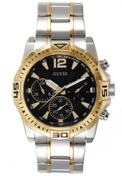 Guess - Montre à aiguilles - silver-coloured/gold-coloured/black