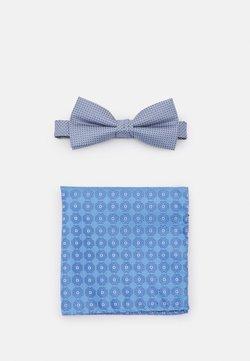Jack & Jones - JACFLOWER BOWTIE BOX SET - Krawatte - blue heaven