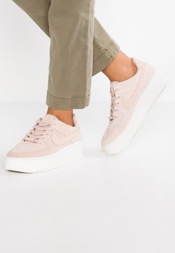 Nike Sportswear - AIR FORCE 1 SAGE - Sneaker low - particle beige/phantom