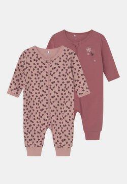 Name it - NBFNIGHTSUIT ZIP 2 PACK - Pijama - deco rose