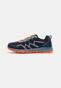 Hi-Tec - STINGER WP - Scarpa da hiking - navy/royal/orange/light grey
