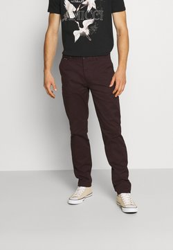 Scotch & Soda - STUART CLASSIC  - Chinot - bordeaubergine