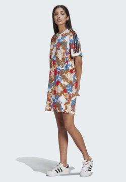 adidas Originals - DRESS - Jerseykleid - multicolor/white