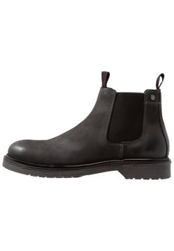 Jack & Jones - JFWLEYTON - Stiefelette - pirate black