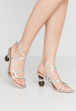 Who What Wear - RYLEIGH - Sandals - silver