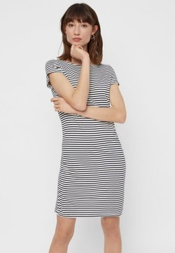Pieces - PCBILLO SS DRESS NOOS - Jerseykleid - light grey